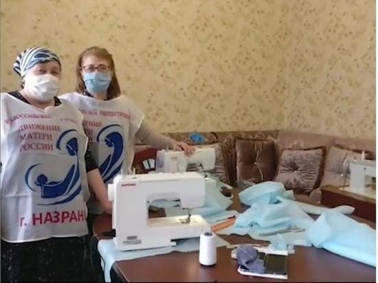 В Ингушетии «Матери России» шьют одежду для медработников