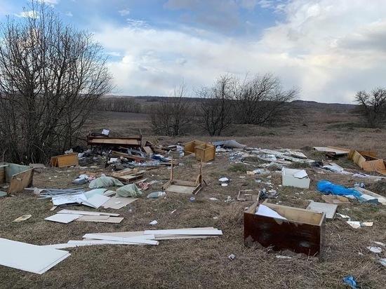 Тульские общественники обнаружили 5 несанкционированных свалок в Кимовском районе