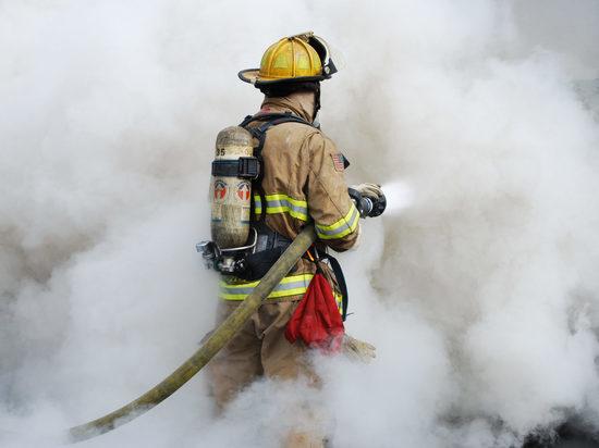 В Ивановской области сгорела баня