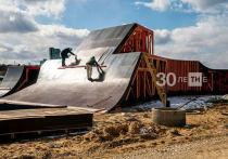 Экстрим-парк под мостом Миллениум в Казани возводят строители-спортсмены