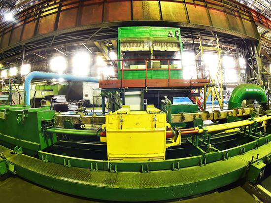 На ЧМК модернизировали прокатный стан для производства арматуры