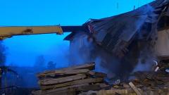 Под Нижним Новгородом в жилом доме взорвался газ: видео пожарища