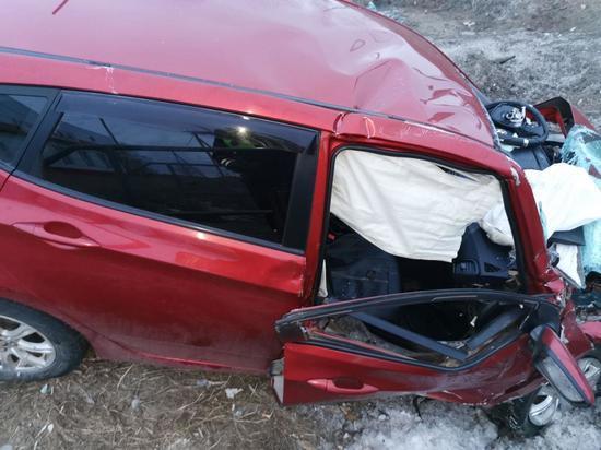 В Холмогорском районе в ДТП пострадали два человека