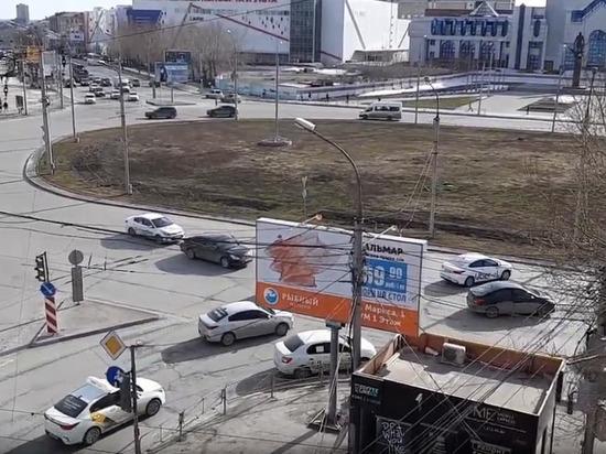 Забастовка таксистов в Новосибирске продлилась полдня