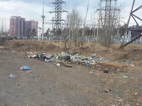 Забайкальцев попросили активнее платить «Олерон+» за вывоз мусора