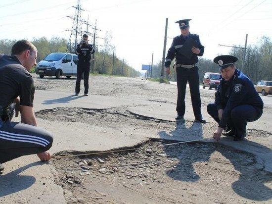 ГИБДД проверило дорожные ямы Ярославля