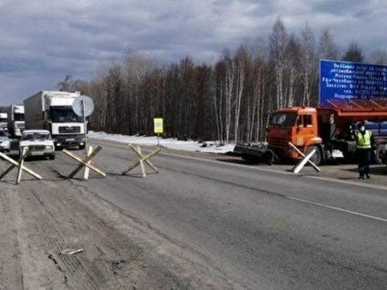 Полиция перестала контролировать выезд из Челябинска