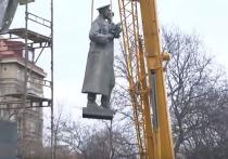 Чехия отказалась передать России снесенный памятник маршалу Коневу