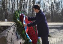 Щеголев возложил венок на месте крушения польского борта в Смоленске