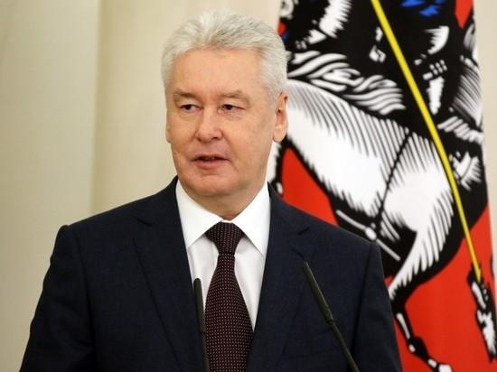 Собянин: прекращается работа большинства предприятий в Москве