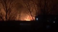 Взбунтовавшиеся заключенные подожгли иркутскую колонию: видео