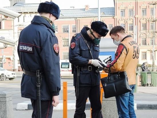 Росгвардия увеличила количество патрулей в Москве из-за коронавируса