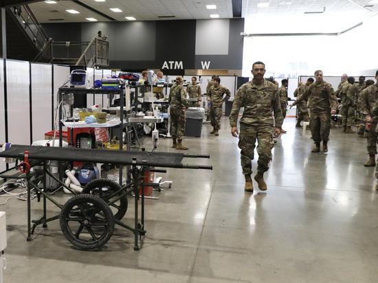 У сражающихся с коронавирусом в США военных появились проблемы