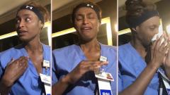 Медсестра из Нью-Йорка устала хоронить больных и записала видео