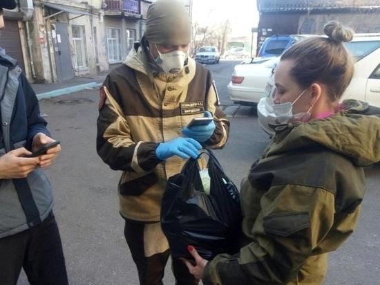 В Забайкалье самоизолированным помогают более 500 волонтеров