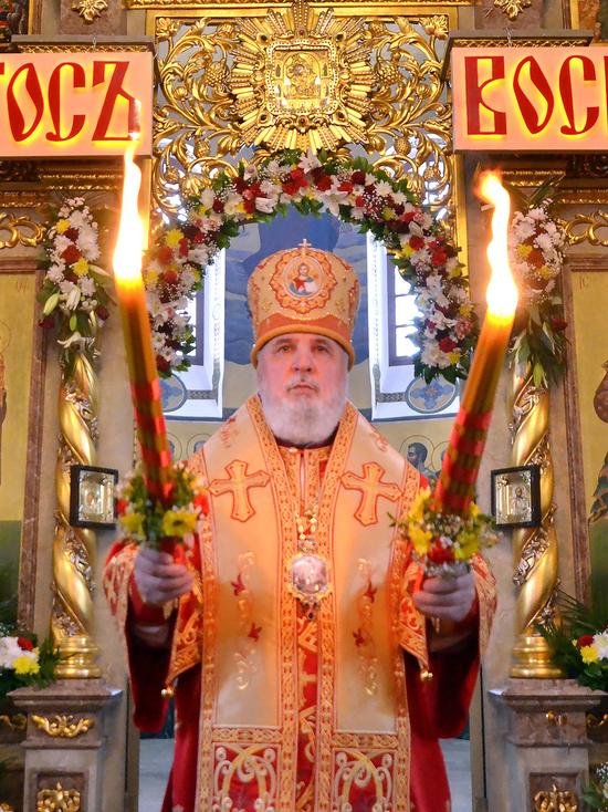 Пасхальное послание митрополита Пермского и Кунгурского Мефодия