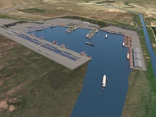О строительстве порта в Калмыкии и истории со Штыгашевым