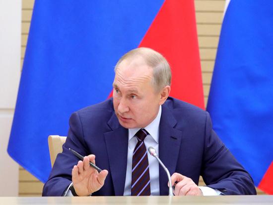 Путин призвал к новым шагам из-за экономической ситуации в России
