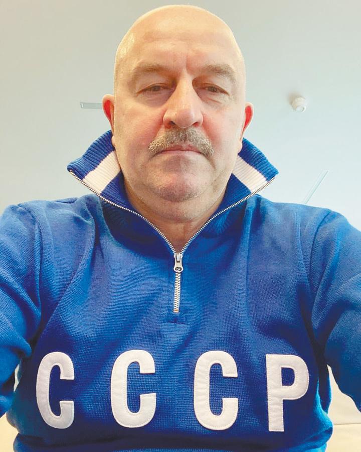 Станислав Черчесов: «Беговую дорожку делим с сыном»