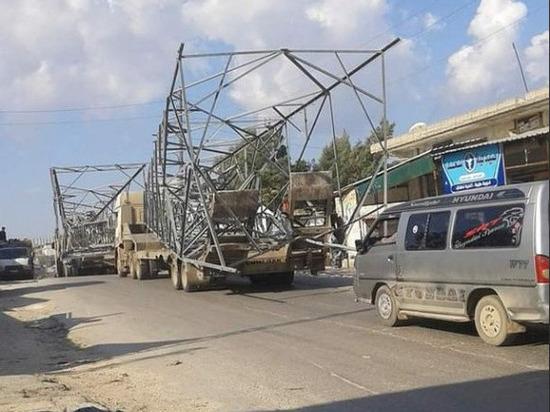 Боевики демонтировали и увезли несколько ЛЭП в Сирии