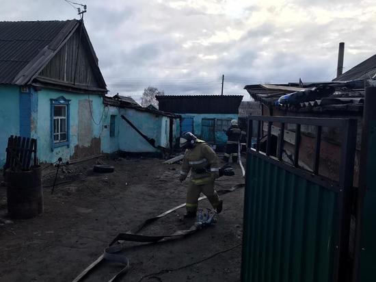 Двое детей чуть не погибли при пожаре в одном из частных домов Славгорода