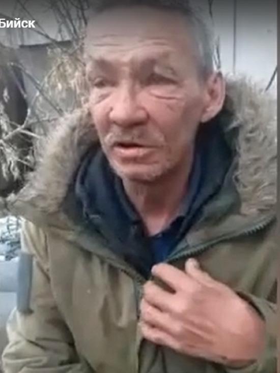 Участник боевых действий в Афганистане живет за мусорными баками в Бийске