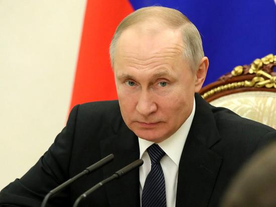 Путин вновь обратится к россиянам из-за коронавируса
