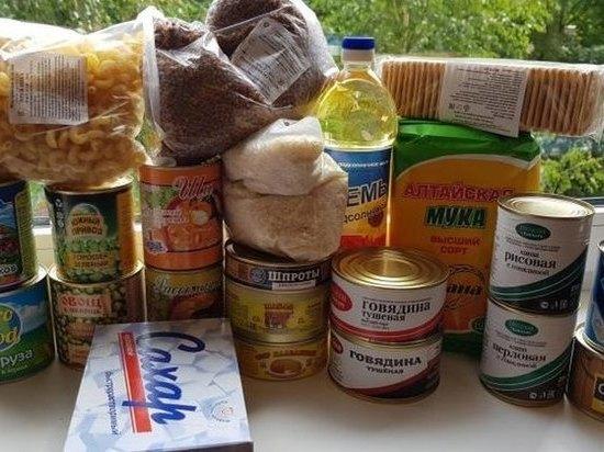 В регионах Черноземья власть приступила раздаче еды, спичек и мыла