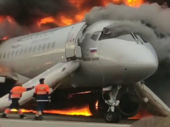 СКР назвал единственного виновного в катастрофе SSJ в Шереметьево