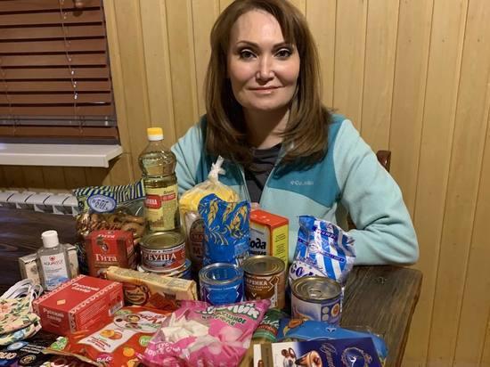 Елена Лаптандер купила продукты и сшила маски для ямальских тундровиков