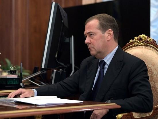Медведев: ситуация в экономике кое-где уже напоминает коллапс