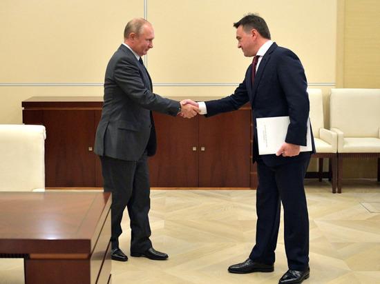 Путин объявил благодарность губернатору Мособласти Воробьеву