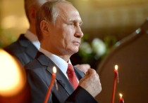 Пресс-секретарь президента РФ Дмитрий Песков не смог сказать, где Владимир Путин встретит Пасху