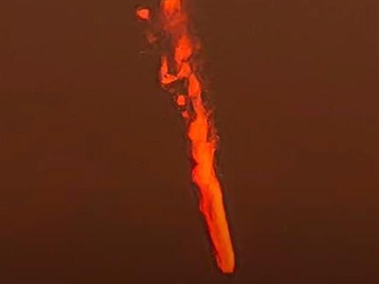 Над городом в Британии пронесся «огненный вихрь»