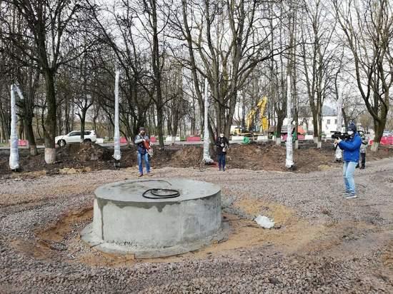 Областные депутаты за свой счет купят саженцы в сквер в центре Пскова