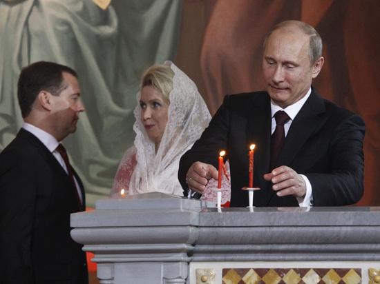 Путин не приедет на пасхальное богослужение в храм Христа Спасителя