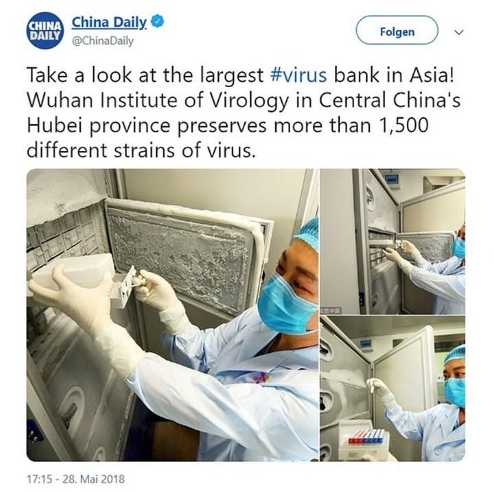 Фото из вирусной лаборатории Уханя шокировали мир