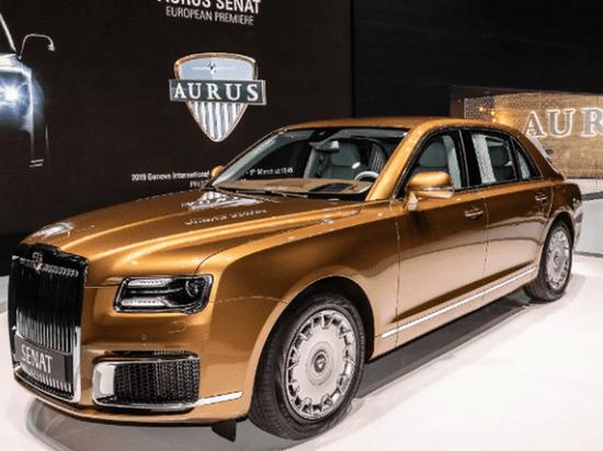 Мантуров назвал сроки первых поставок серийно произведенных Aurus