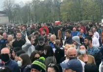 Беспорядки во Владикавказе: тысячи людей сорвали самоизоляцию под руководством певца