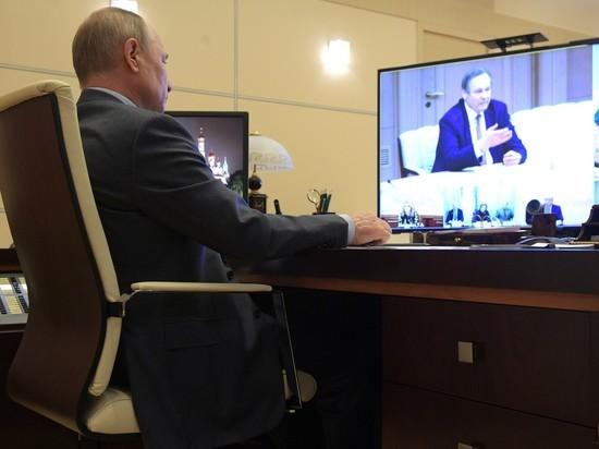 В присутствии Путина ученые проспорили о коронавирусе