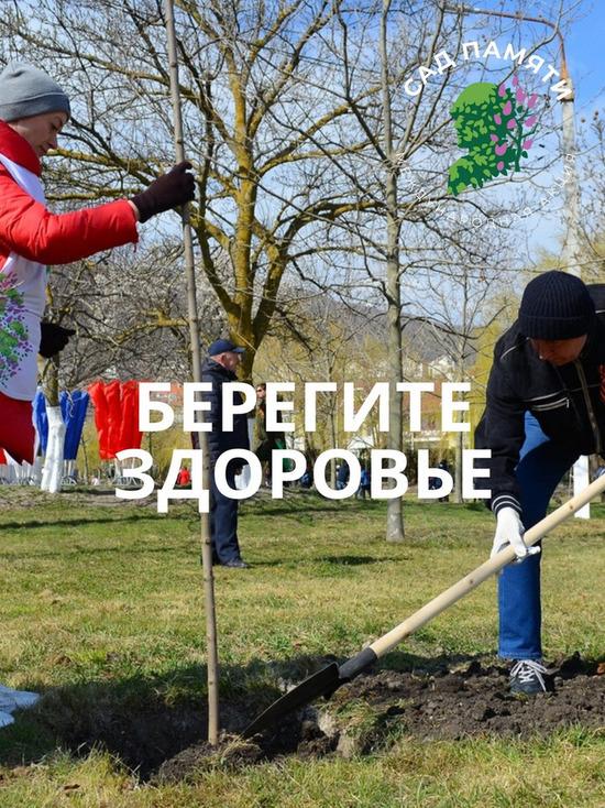 Из-за COVID-19 «Сад памяти» в Пскове планируют высадить на месяц позднее