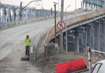 Как проходит ремонт Старого моста в Барнауле