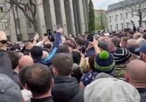 После митинга во Владикавказе возбудили дело за применение силы к полицейским