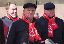 На возложении цветов Ленину Зюганов раскритиковал Путина