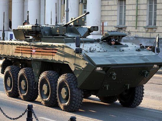 Разработчик рассказал о достоинствах новой российской бронемашины «Бумеранг»