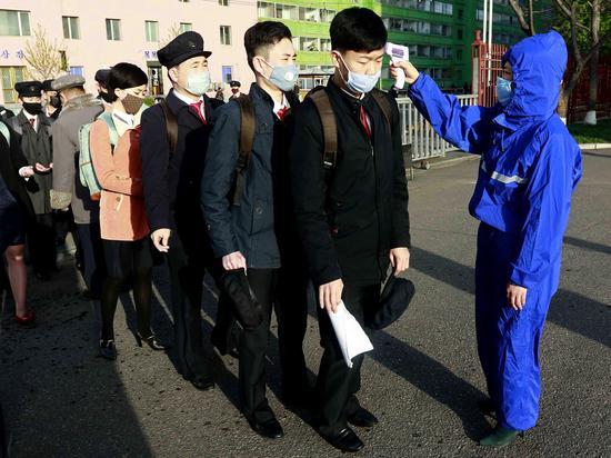 Пхеньян отрицает наличие в стране случаев заражения