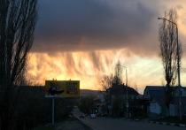 На Саратов обрушился невидимый дождь