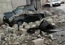 В Магнитогорске прошел ураган и мощный снегопад