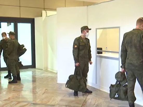В Подмосковье из-за коронавируса направили военных медиков