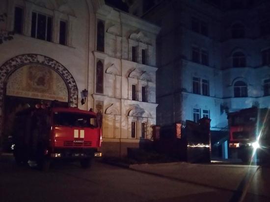 Неизвестные попытались сжечь резиденцию патриархов на Черном море